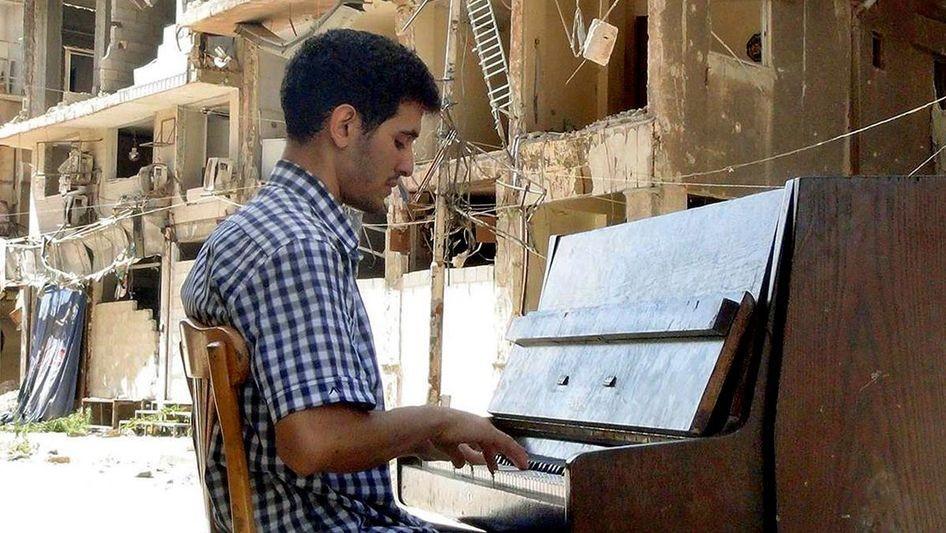 Der Klavierspieler aus Jarmuk