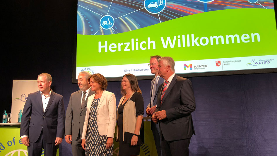 World of eMobility in Mainz