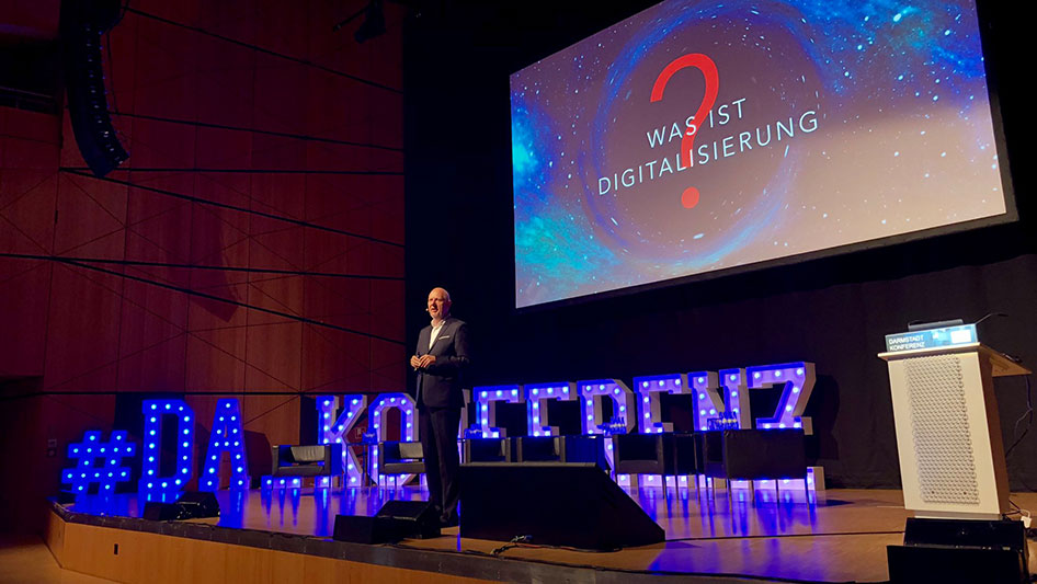 Specialist conference for digitization – Darmstadt 2019